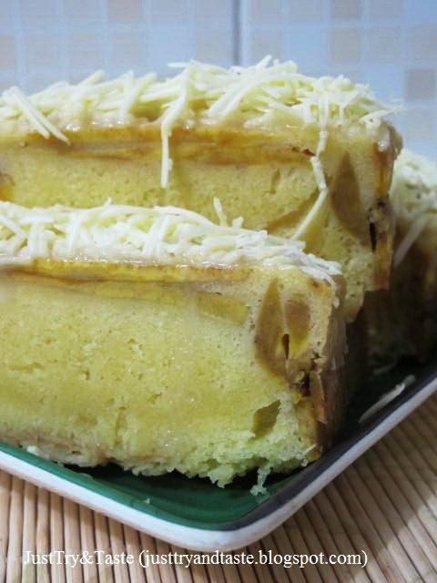 Resep Kue Bolu Pisang : resep, pisang, Resep, Pisang, Dengan, Cream, Cheese, Taste