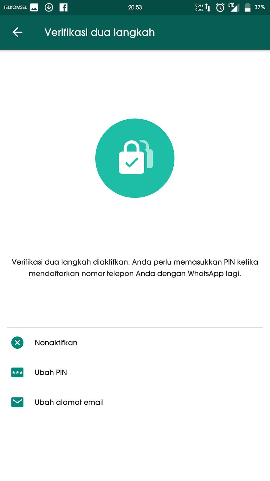 Lindungi Akun Whatsapp Kamu Dengan Cara Mengaktifkan Fitur TFA Agar Terbebas dari Cyber 4