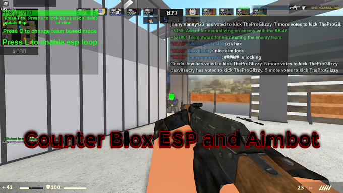 Counter blox aimbot and esp