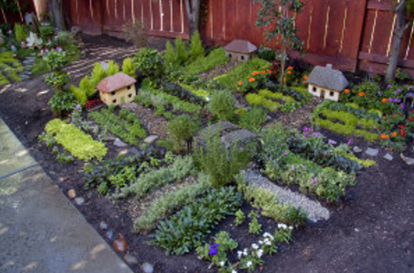 Gnome In Garden: DIY Home Sweet Home: 8 Kid Friendly Garden Ideas