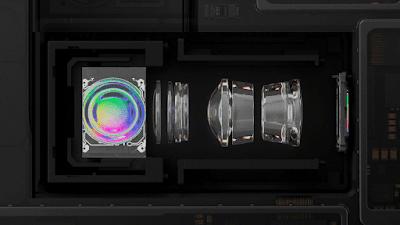 可変式望遠レンズの内部構造のイメージ2