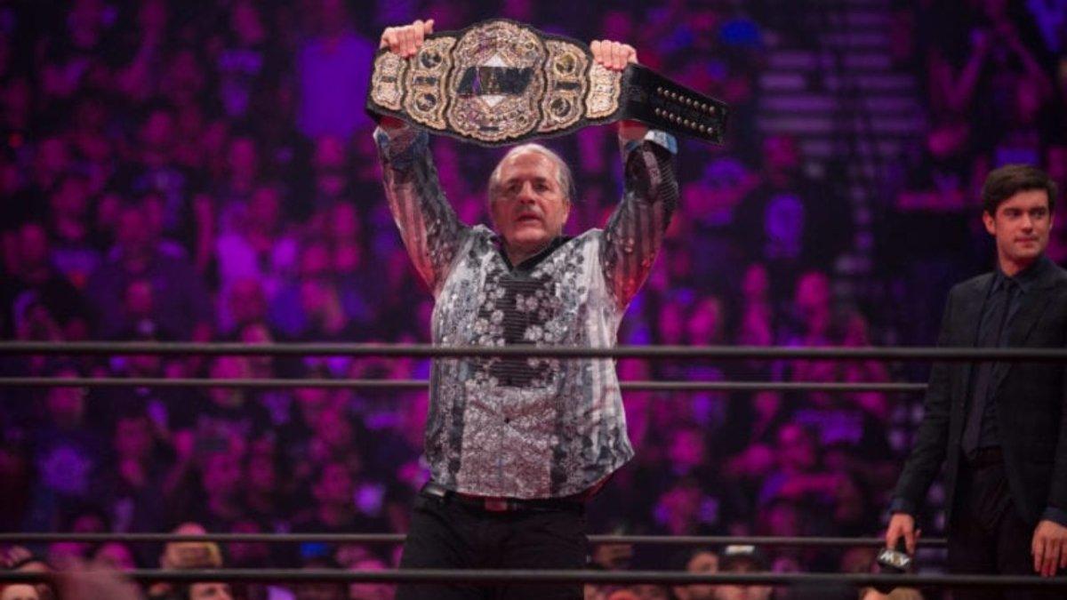 Aparição de Bret Hart no AEW Double Or Nothing 2019 foi decidida de última hora