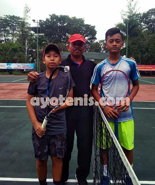 Dito Pijakkan Kaki ke Perempat Final Kejurnas Tenis Yunior New Armada Cup XXIV