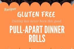 Gluten free PULL-APART DINNER ROLLS #glutenfree