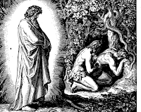 Adam and Eve heard the voice of God and hide in the trees of the forest. Gen. 3: 8.