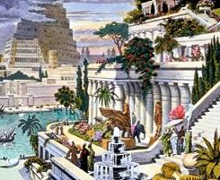 Reproducción imaginaria de Babilonia