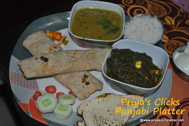 Punjabi platter