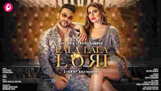 Lala Lala Lori Lyrics - Fazilpuria & Afsana Khan