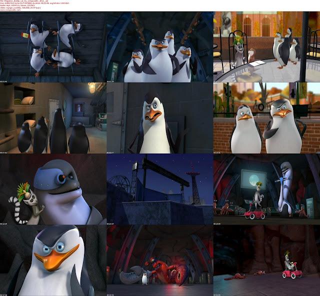 Los Pinguinos de Madagascar Operacion Blowhole DVDRip Latino