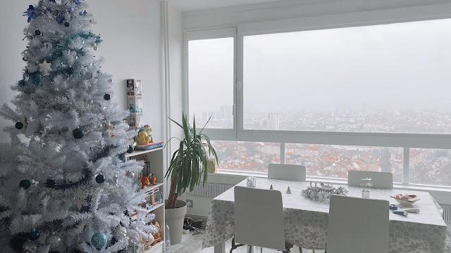 Passage à Saarbrücken et on décore pour Noël !