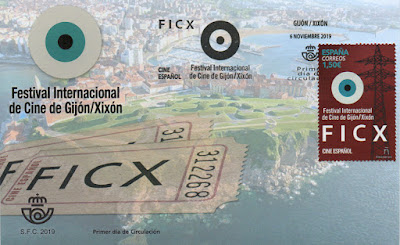 Sobre PDC del sello dedicado al Festival de Cine de Gijón, 2019
