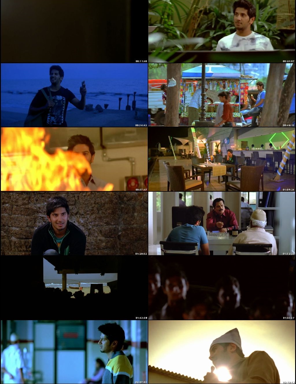 Screen Shot Of Ustad Hotel 2012 300MB Full Movie Hindi Dubbed Free Download 480P BRRip Small Size PC Movie