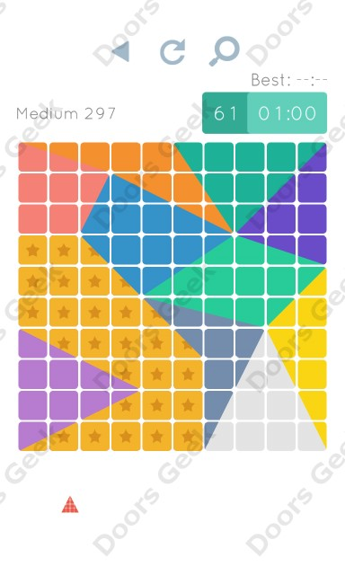 Cheats, Walkthrough for Blocks and Shapes Medium Level 297