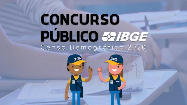 CONCURSO PÚBLICO DO IBGE para o Censo Demográfico 2020