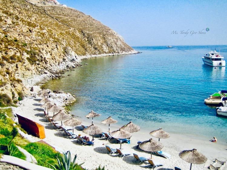 Mykonos, Greece, one of the world's most beautiful beaches | Ms. Toody Goo Shoes