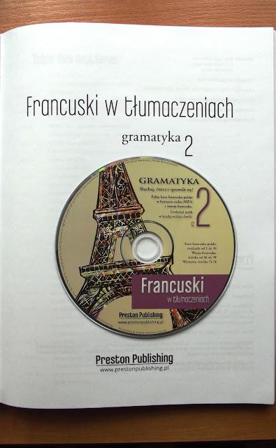 """Recenzje #3 - """"Francuski w tlumaczeniach cz.2"""" - książka z płytą CD - Francuski przy kawie"""