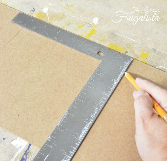 DIY Jumbo Scrabble Tile Fall Banner Measuring Tiles