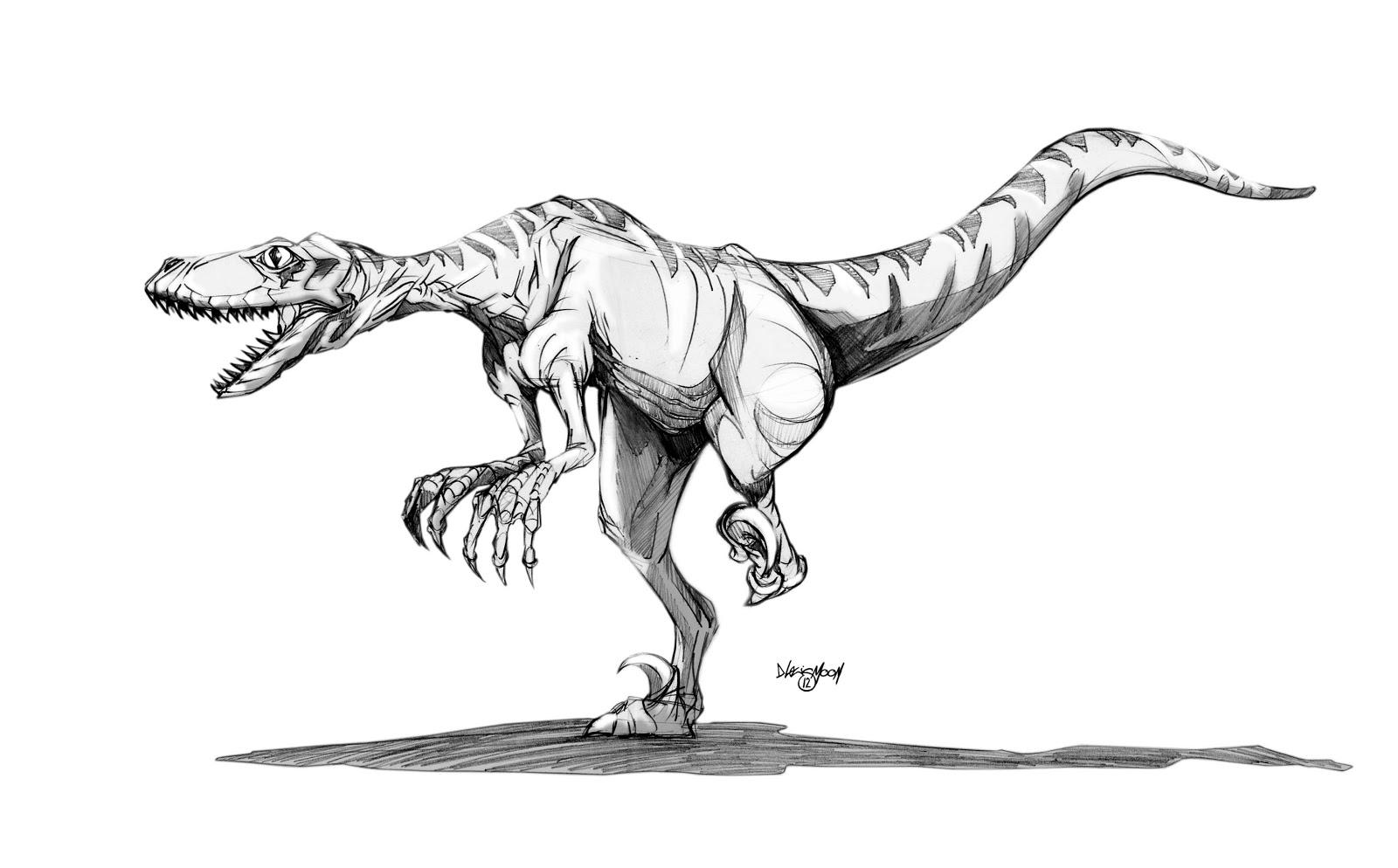David Moon Illustration & Design: Jurassic D.