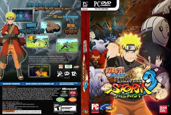 Naruto Shippuden Ultimate Ninja Storm 3 Full Burst PC Free