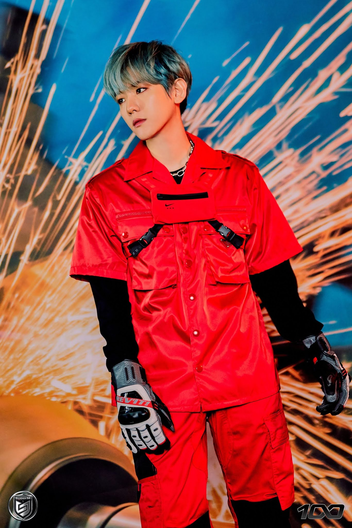 SuperM Releases Teaser Photos of Baekhyun, Mark and Lucas Before Comeback With '100'