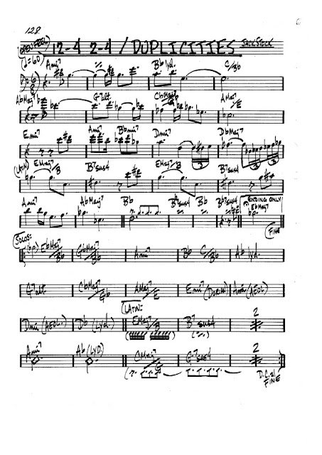 Partitura Trombón Jack Stock