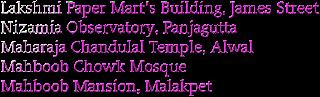 Heritage Property in Hyderabad