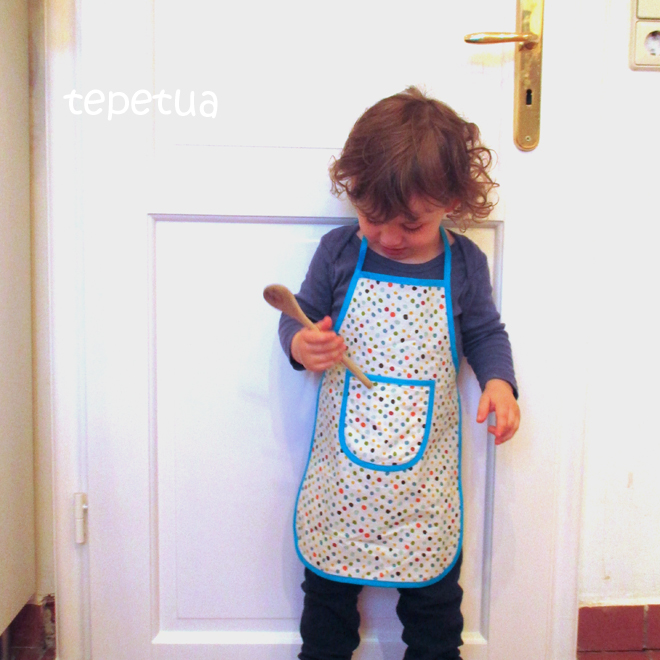 tepetua: DIY - Kinderschürze - mein erstes FREEbook