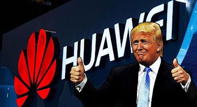 ترامب يرفع الحظر عن هواتف هواوي