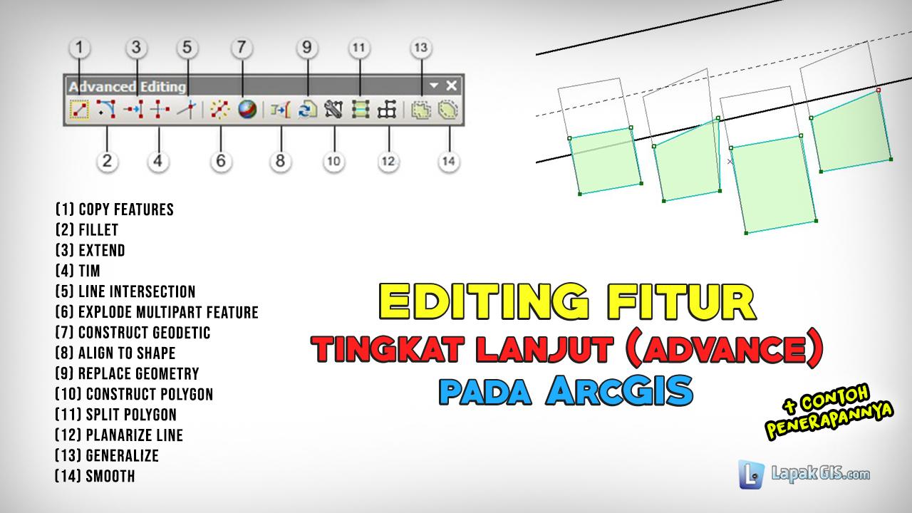 Editing Fitur pada ArcGIS (Tingkat Lanjut)