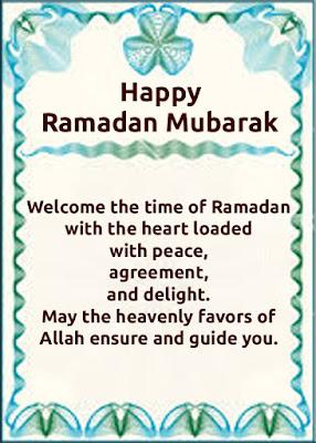 Ramadan Mubarak WhatsApp/Facebook Status 2017