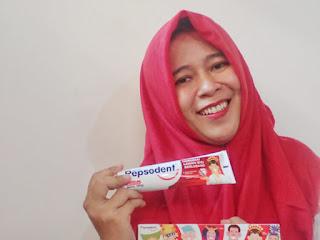Pepsodent Edisi Spesial Merah Putih, #MerdekakanSenyum Keluarga Indonesia