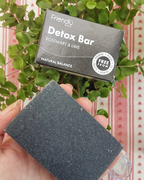 The Natural Beauty Box Cleanse Edit - Friendly Detox Bar Soap Review