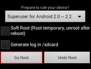 Cara Root Android Dengan Universal Androot Super Gampang