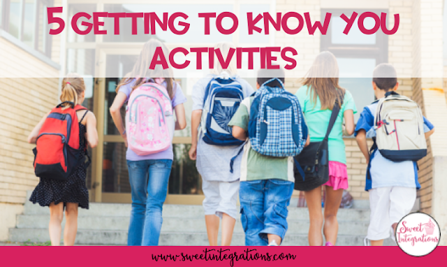 5 Getting to Know You Activities to Begin the New Year - Cover image