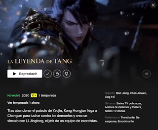 serie la leyenda de tang netflix sub español
