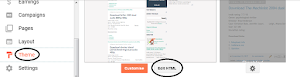 How to Edit Menu Items in Custom Blogger Theme.