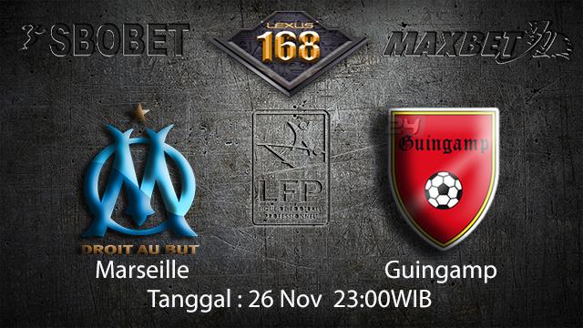 PREDIKSIBOLA - PREDIKSI TARUHAN BOLA MARSEILLE VS GUINGAMP 26 NOVEMBER 2017 (LIGUE 1)