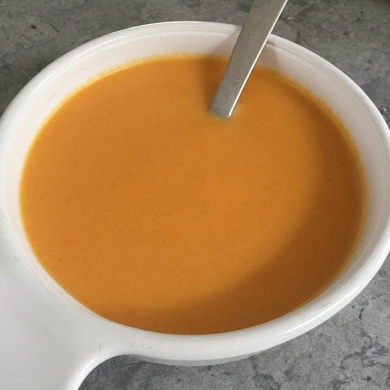 Spicy Carrot Bisque