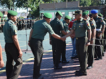 Danrem 132/Tadulako Halal Bihalal Dengan Prajurit Dan Pegawai Negeri Sipil
