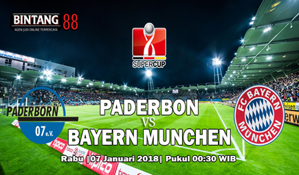 Prediksi Paderborn Vs Bayern Munchen 07 Februari 2018