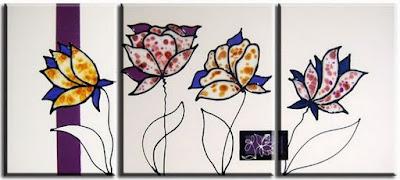 cuadros-de-flores-abstractos-modernos
