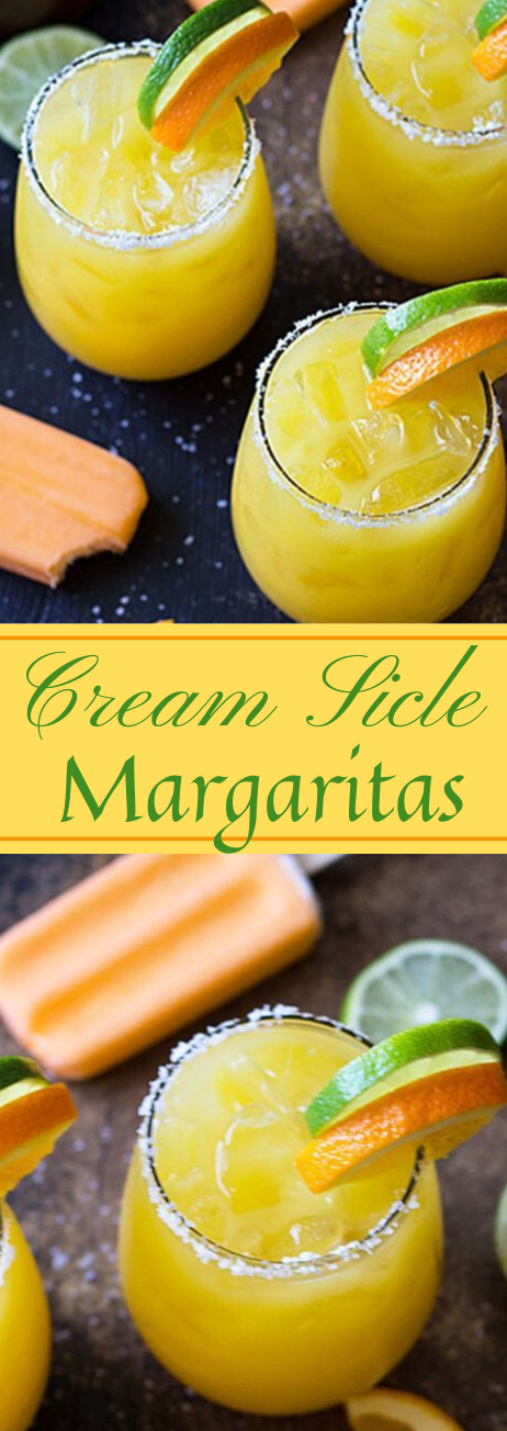 CREAMSICLE MARGARITAS #sangria #cocktail #margaritas #drink #easy