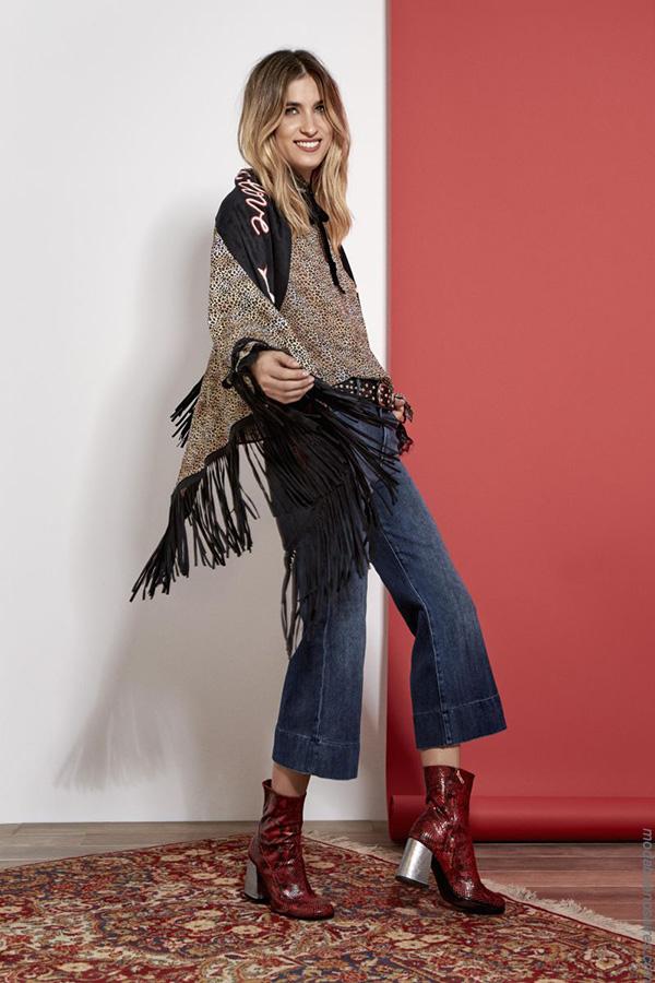 Ropa de mujer otoño invierno 2017 moda 2017. Pantalones cropped jeans moda 2017 invierno.