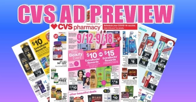 CVS Ad Scan 9/12 to 9/18