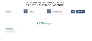 Copertura Vodafone