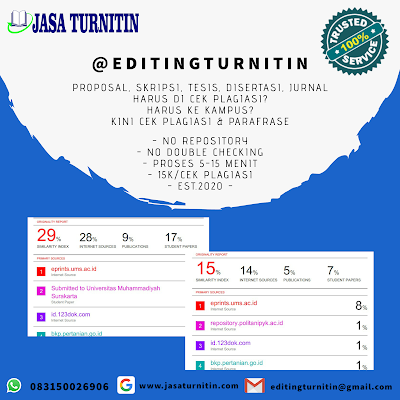 Jasa Cek dan Revisi Turnitin Tercepat di Lampung