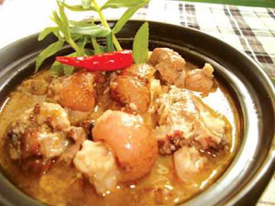 Món ăn ngon:  chân giò nấu giả cầy