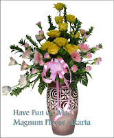 Rangkaian Bunga Vas Tembikar Jakarta Online Florist