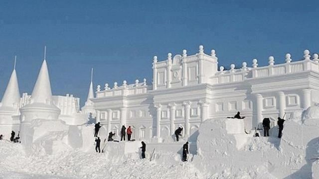 Rasnov among the 10 most beautiful snow castles