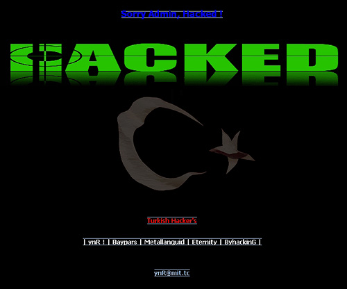 Hackers deface Philippines Department of Environment website